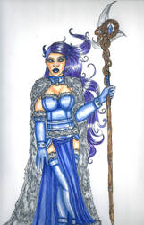 Tiefling Ice Witch