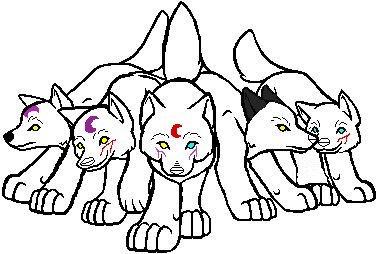 Children of Kazu and Sesshomaru by QFCgriffin1fan