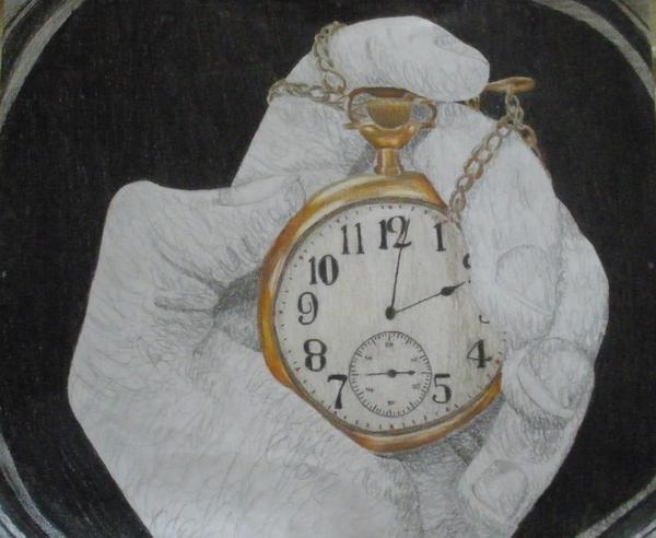 Pocket watch by Hihakuchi