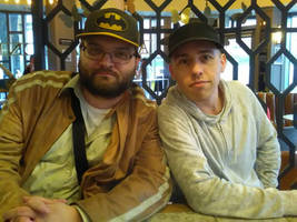 The two artists met in Birmingham