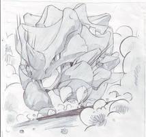 Rhyhorn by Kidura