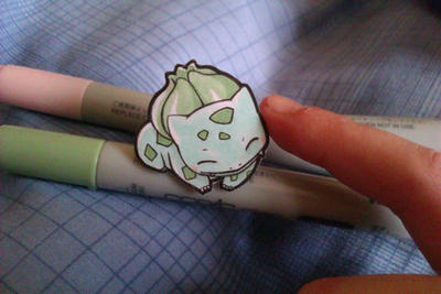 Bulbasaur Papermon by Kidura