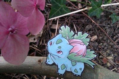 Ivysaur Papermon by Kidura