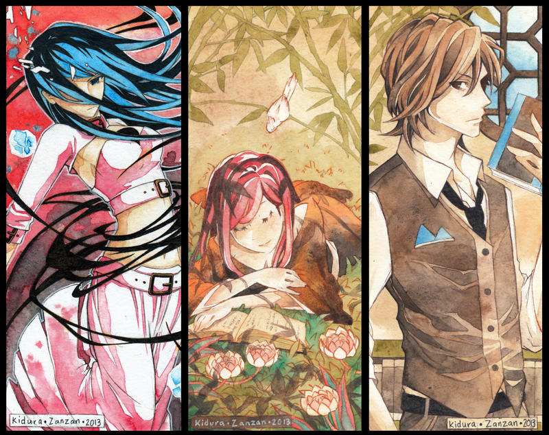 Bookmark Commissions - Yuri Senteria by Kidura