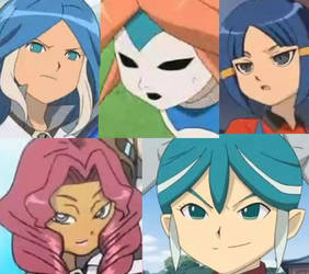 girls alien -inazuma eleven