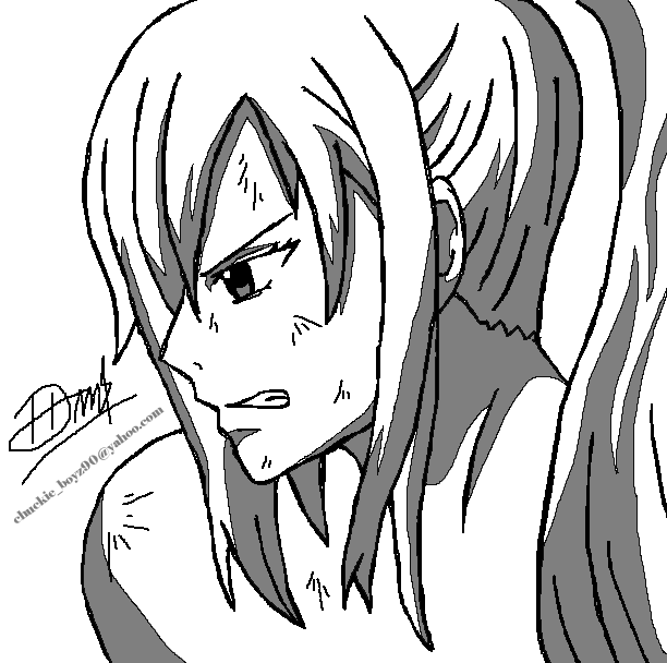 Fairy Tail Drawings Erza Erza Scarlet  Fairy Tail  by