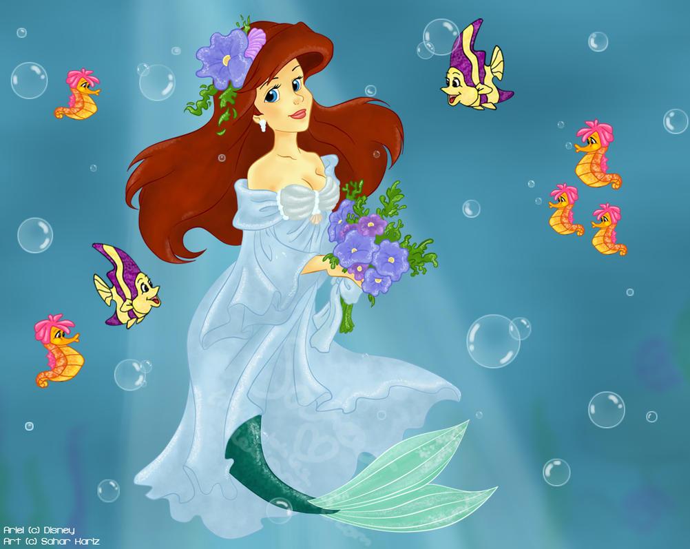Mermaid Princess By Tinkbubbles On Deviantart Mermaid Princess Drawings