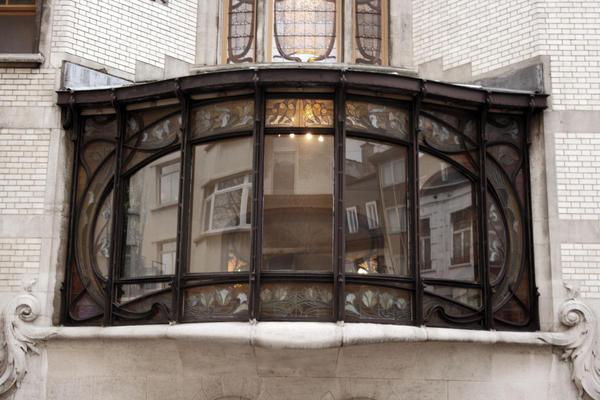 art nouveau window frame by bouffi on deviantart - Window Frame Art