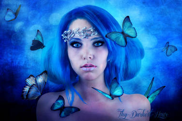 The Butterfly Nymph by this-darkest-hour