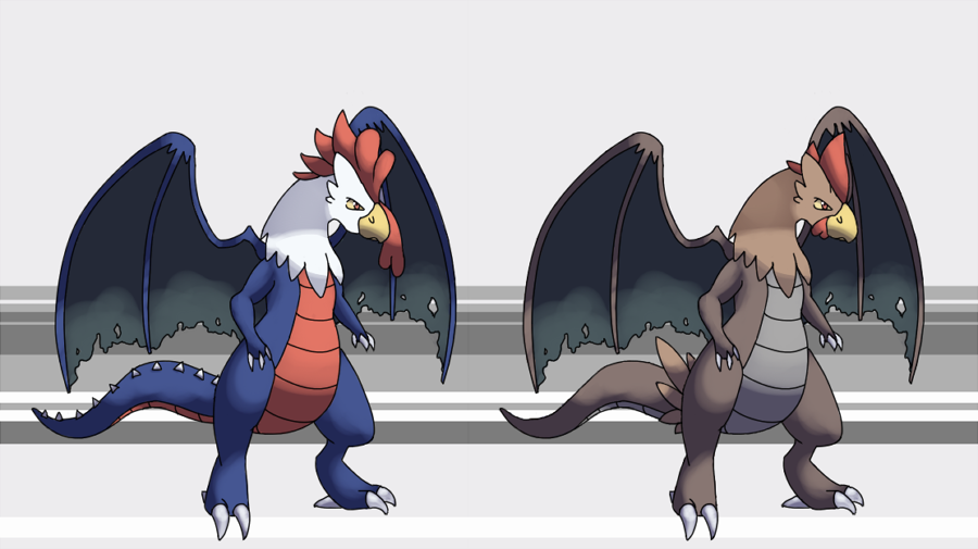 Cockatrice Fakemon by The-Godlings-Rapture