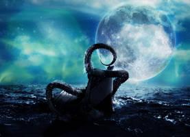 Kraken Attack by Doug222