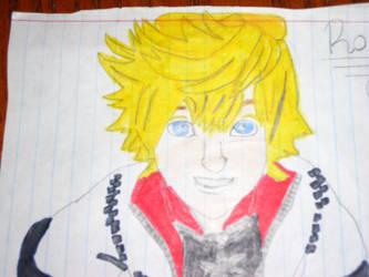 Kingdom Hearts Roxas by DreamyNoodles