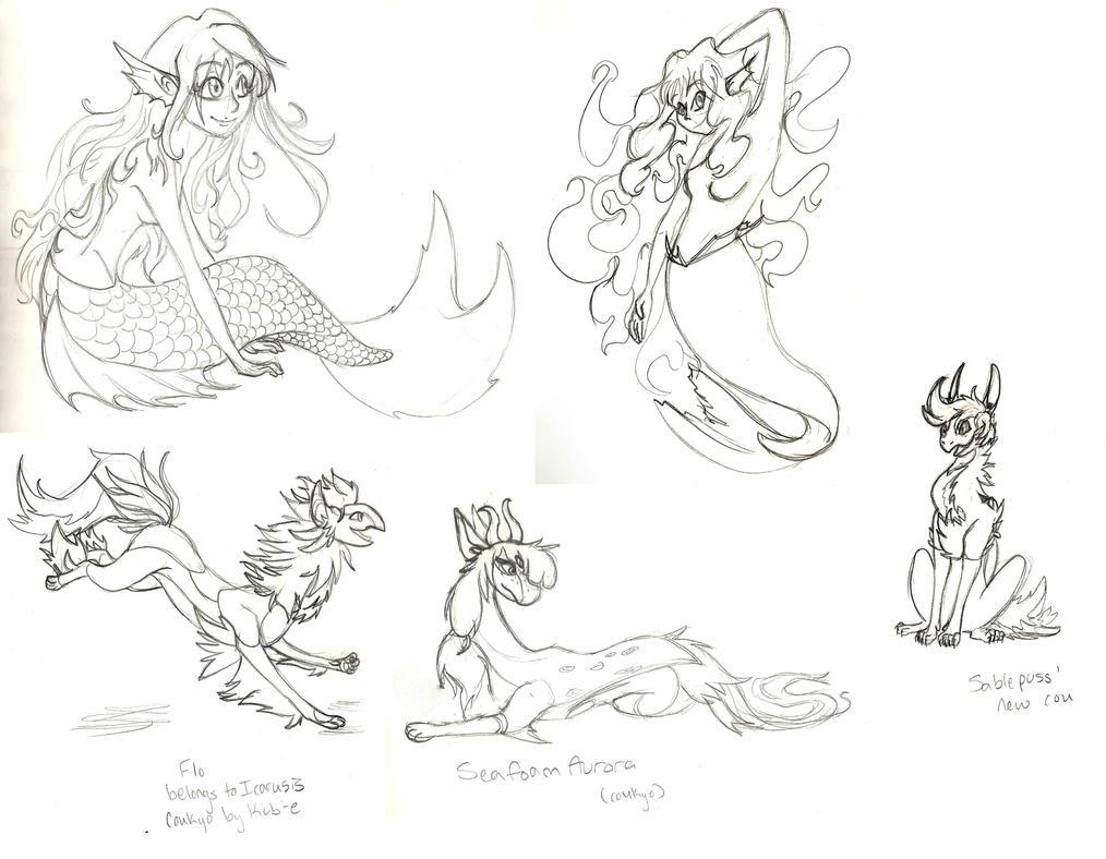 Random 2015 sketchdump by LadyKaltag