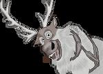Sven the Reindeer [Frozen] by JytteH