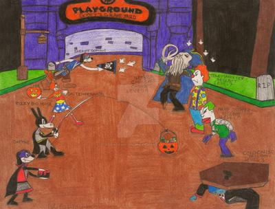 Toontown Halloween Contest- SR by Toontown-Online