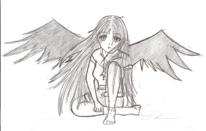 How to draw Dark Angel  Blogger