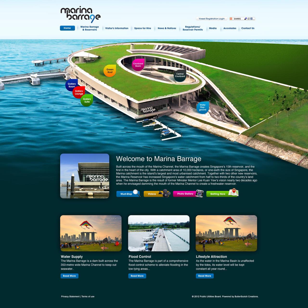 Marina Barrage by armanique