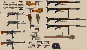 WW2 German Weapons 1