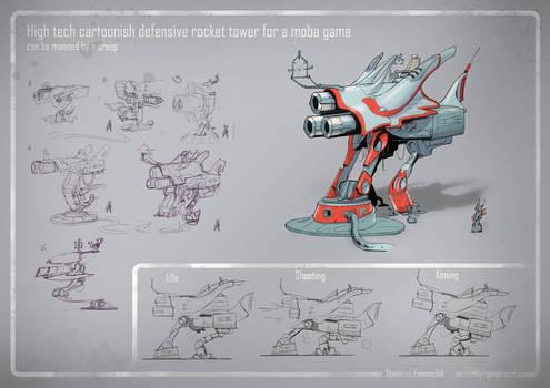Moba tower concept design