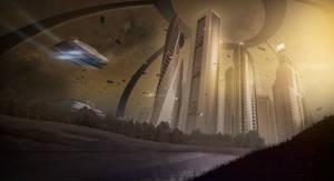 Mars city matte paint
