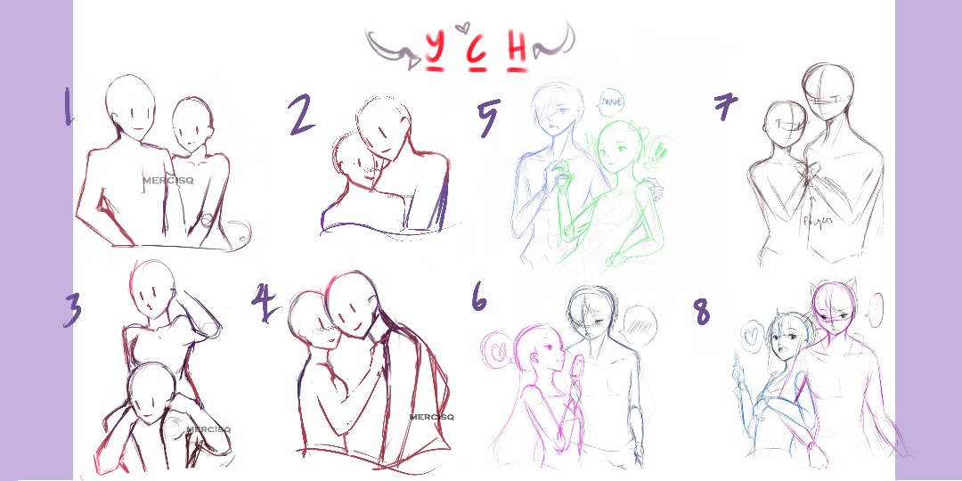 Couples/Lovers YCH OPEN by namqshop
