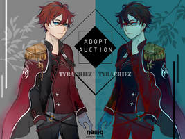 OPEN Crimson Red Auction by namqshop