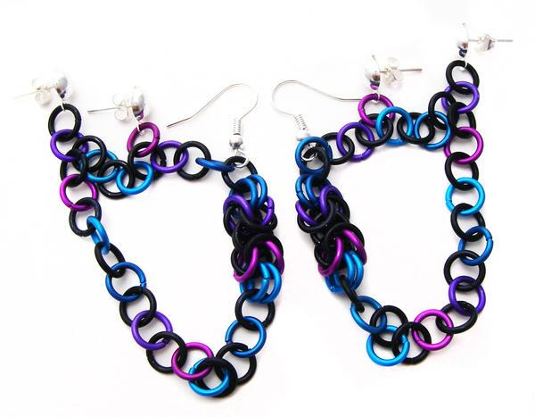 weird earrings