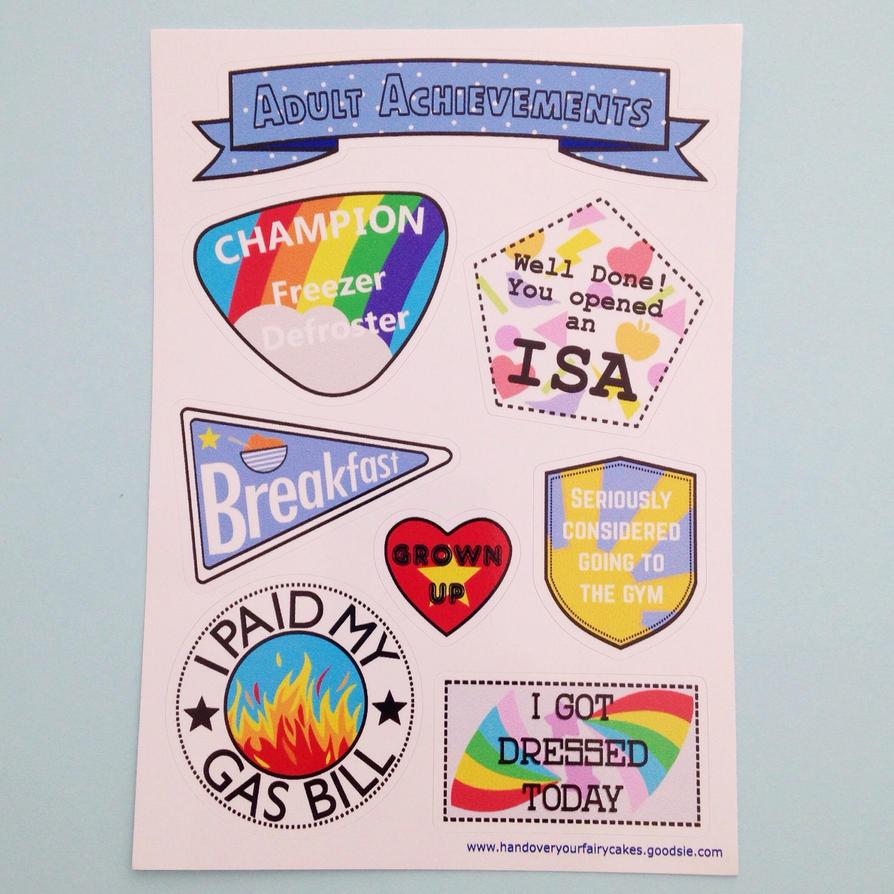 Sexy fairy clip art stickers