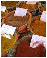 spices and herbs in france by ShoWatanabe