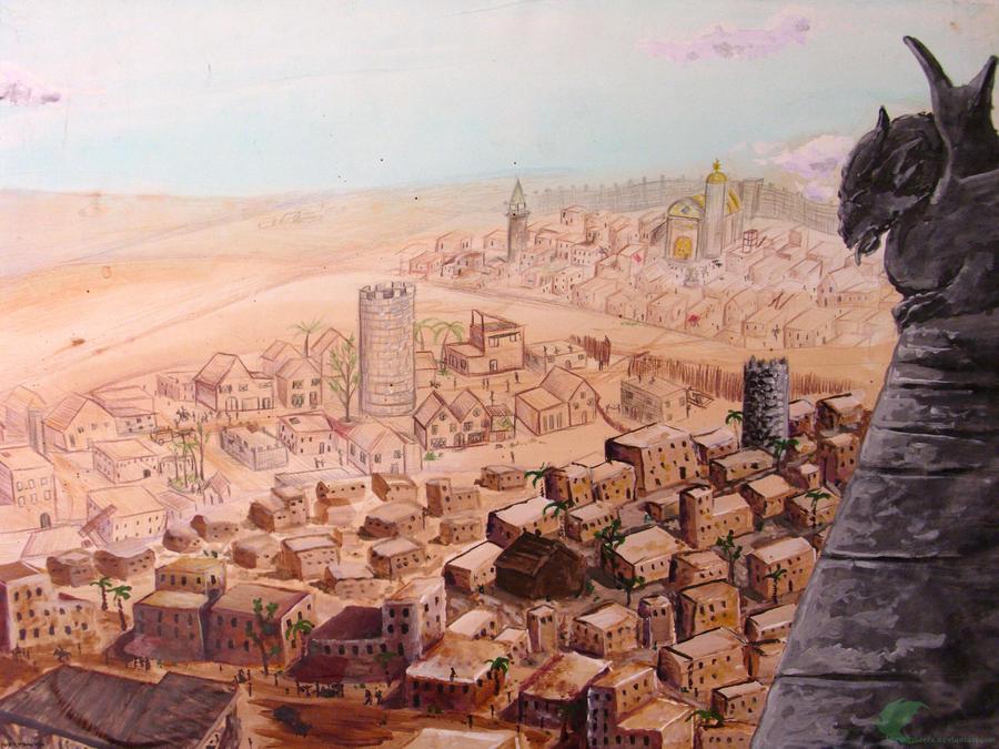 Bilderesultat for desert city