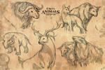 Enrosia Animals: Concept Art 1