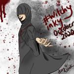 WitchyInky Day 4: Cloak