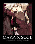 Maka x Soul Demotivational