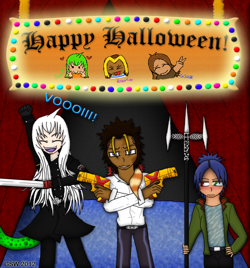 Halloween Reborn! by GentleSaiyanWarrior