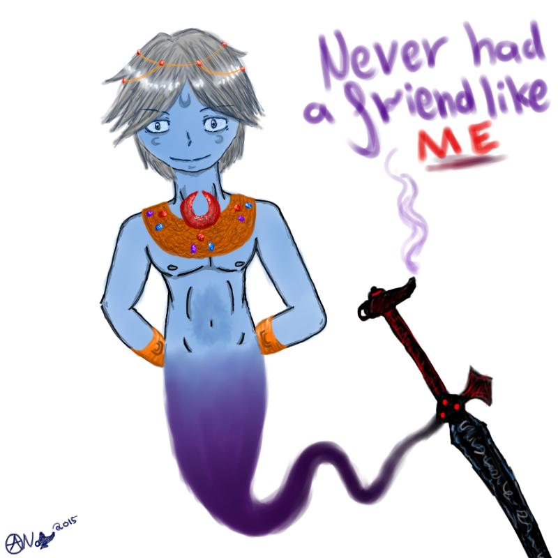Never Had A Friend Like Me by GentleSaiyanWarrior