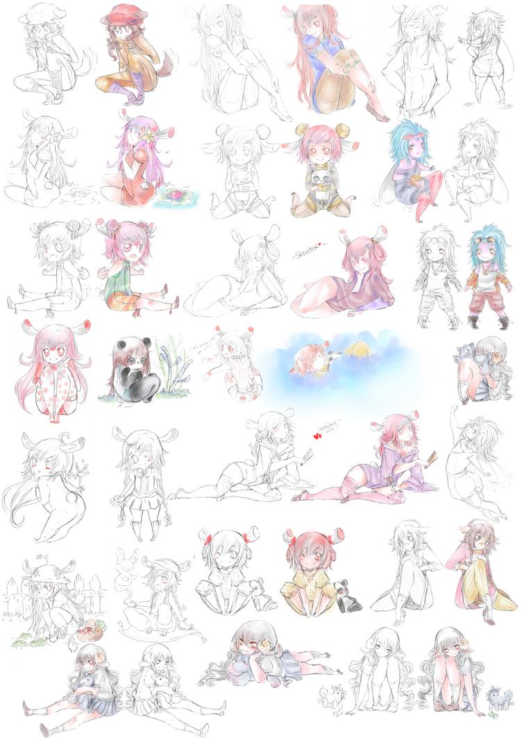 Doodles pchat by Kialun