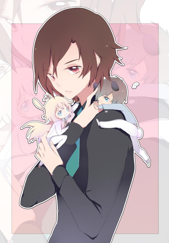 SM: Besu senpai and his minions by Kialun