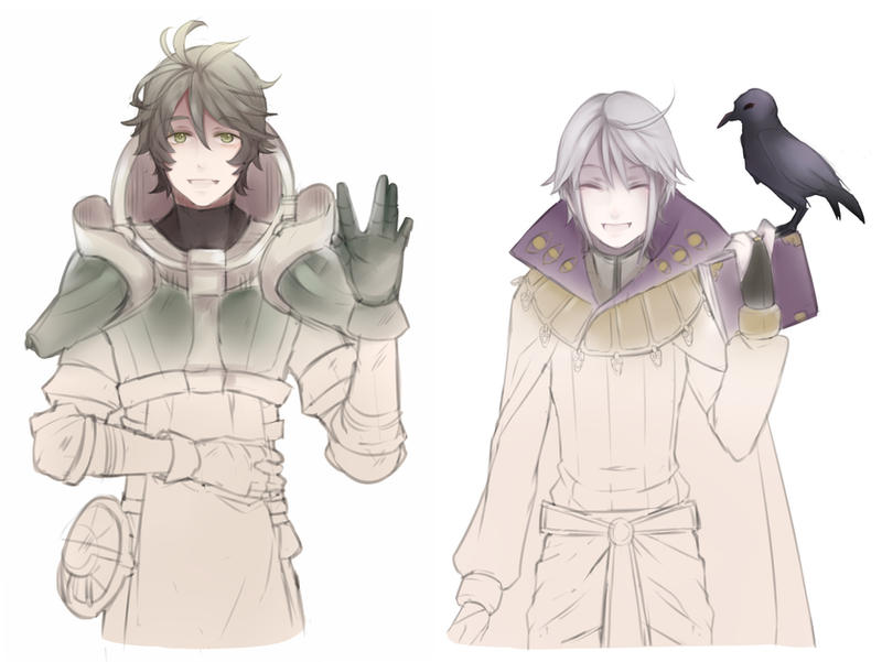 Fire Emblem: Stahl and Henry by Kialun on DeviantArt