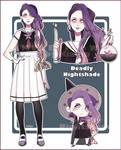 [ CUSTOM ] Gakusei Flowers - Deadly Nightshade