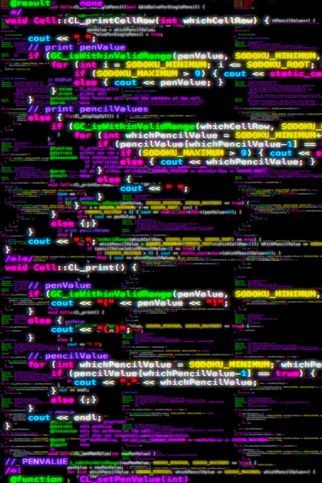 c++ code wallpaper by sethreneneon