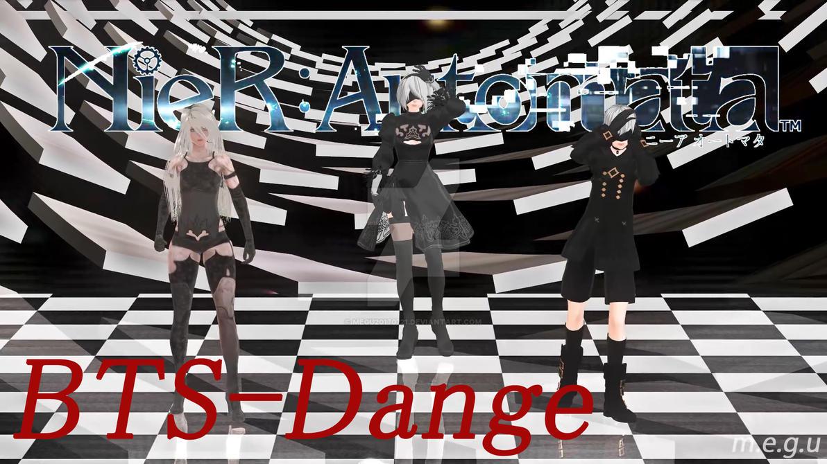 MMD] BTS - Danger [NieR:Automata] by megu20170721 on DeviantArt