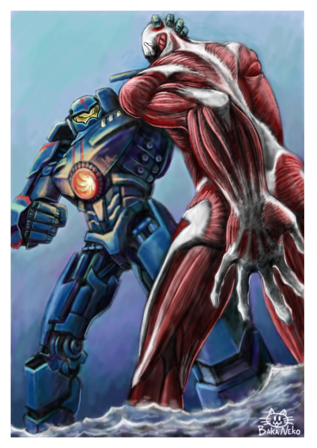 Attack on Pacific Rim by PAPER---MAN on DeviantArt