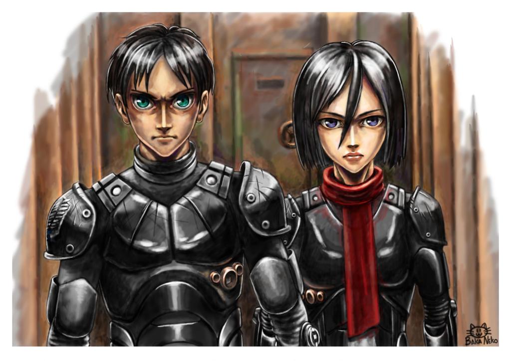 Eren Jaeger And Mikasa...
