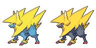 The Thunder Unicorn Pokemon by burritomom