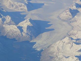 Greenland From The Air I