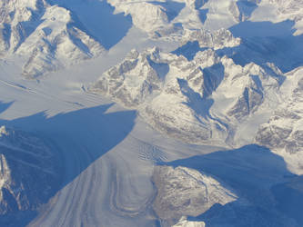 Greenland From The Air II