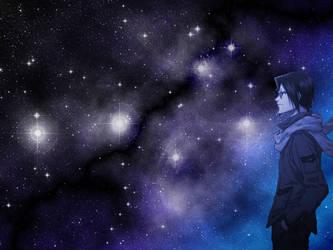 Uryu Ishida Background 2 by alliaxandromeda