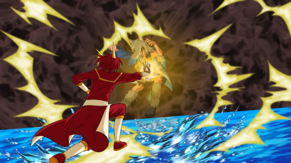 OCTournament Part 1: Allia vs Okami [Fullview Pls] by alliaxandromeda