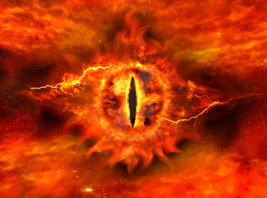 Lord Of The Rings Sourons Eye