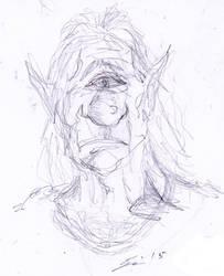 Troll in progress by Tusenkunst